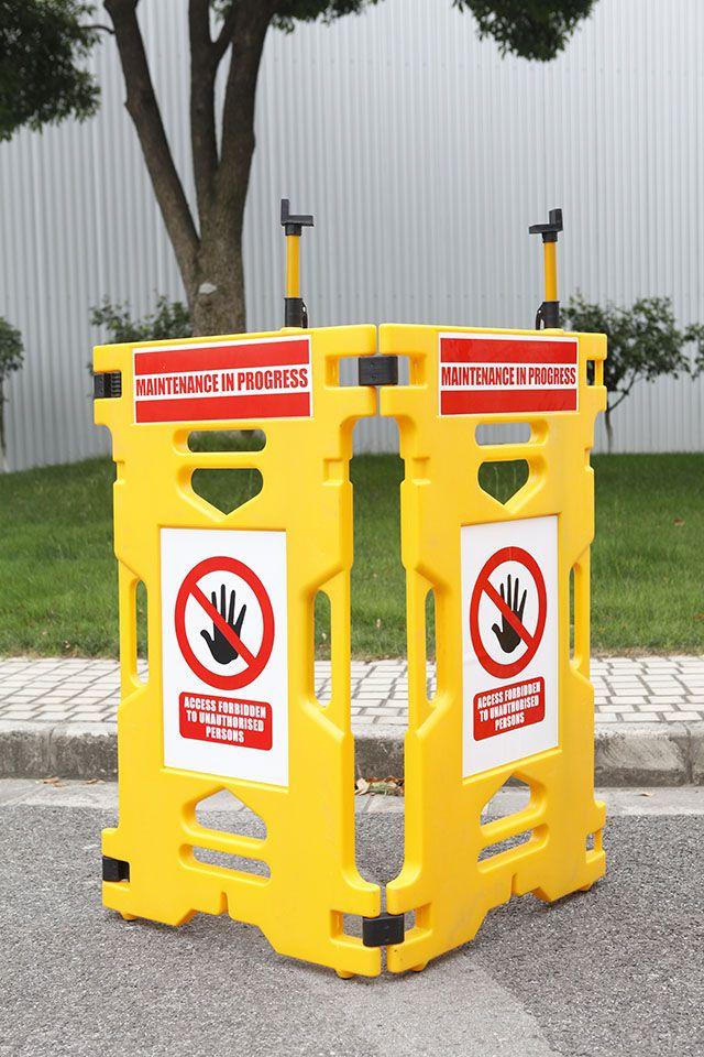 elevator safety maintenace barrier