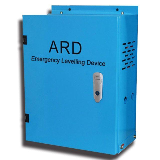 elevator ard emergency levelling device