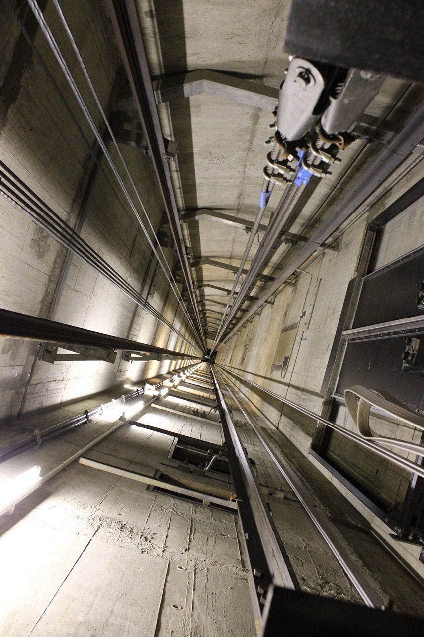 T6 LED elevator shaft light